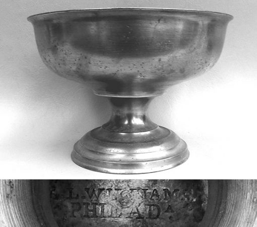Baptismal Bowl by Lorenzo L. Williams