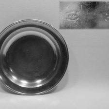 "11"" Dish by Hiram Yale"