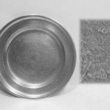 "11"" Dish by Samuel Hamlin"