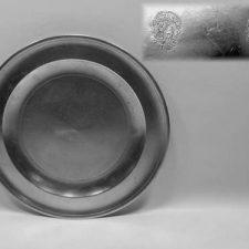 "12"" Shallow Dish by Thomas Boardman"