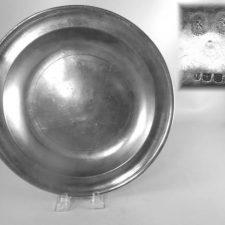 """13¼"""" Dish by Edward Danforth"""