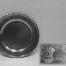 """7¾"""" Plate by Robert Palethorp, Jr."""