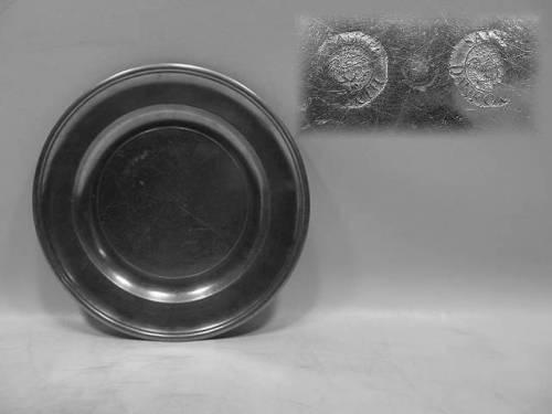 "7¾"" Plate by Samuel Danforth"