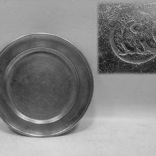 """7 7/8"""" Plate by Blakeslee Barnes"""