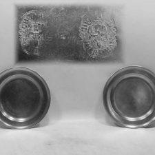 "8½"" Pair of Plates by Thomas Boardman"