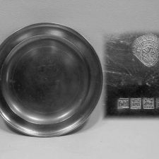 """8 1/8"""" Plate by David Melville"""