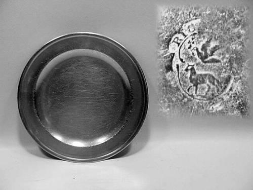 "8"" Plate by Richard Austin"