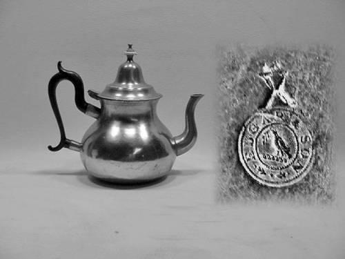 """8"""" Queen Anne Teapot by Edgar and Son"""