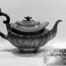 "8"" Teapot by Dixon and Smith, 1811-1822"