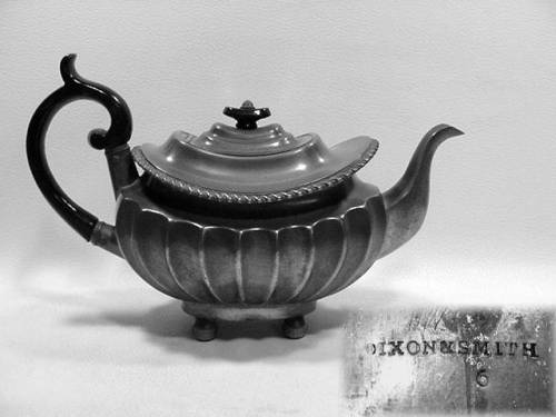 """8"""" Teapot by Dixon and Smith, 1811-1822"""