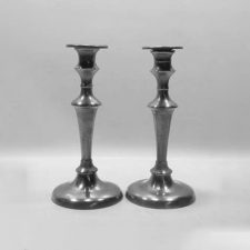 "9¼"" Trumpet Shaft Candlesticks"