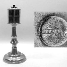 "9"" Roswell Gleason Fluid Lamp"