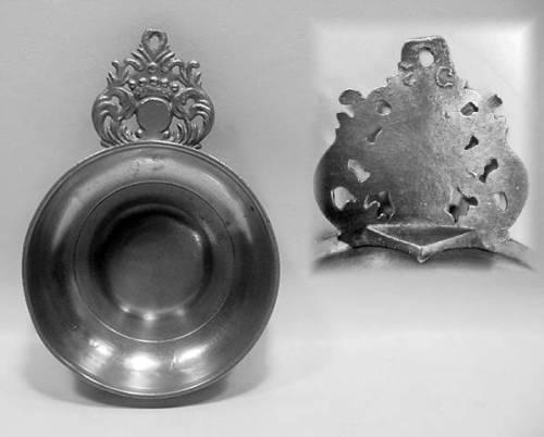 American Crown Handle Porringer