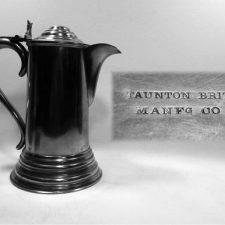 Communion Flagon by Taunton Britannia Manufacturing Co.