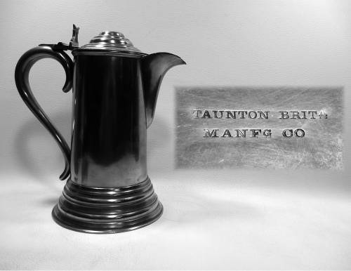Communion Flagon by Taunton Britannia Manufacturing Co.