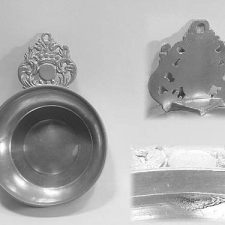 Crown Handle Porringer