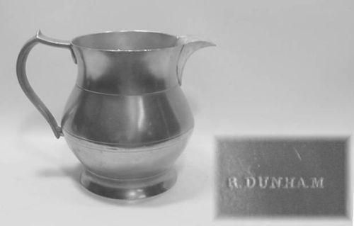 Dunham Open 2 Quart Ale Pitcher