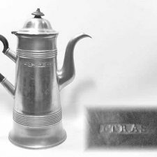 Engraved Trask Tall Pot