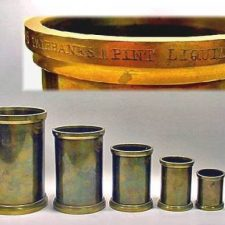 Fairbanks Brass Measures