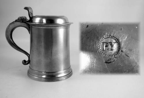 Flat Lid Tankard by Peter Young
