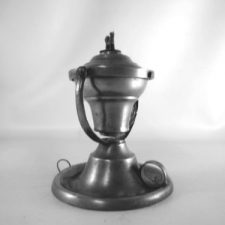 Gimbal Whale Oil Lamp