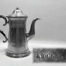 "10½"" Lighthouse Coffee Pot by Rufus Dunham"