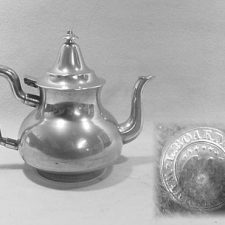 Luther Boardman Queen Anne Teapot