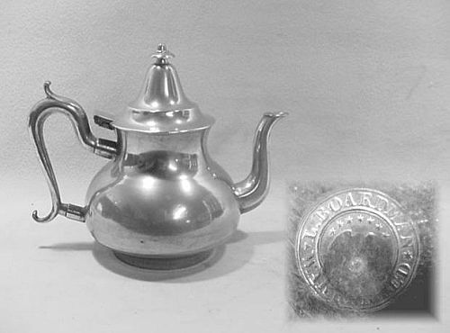 Luther Boardman Queen Anne Teapot