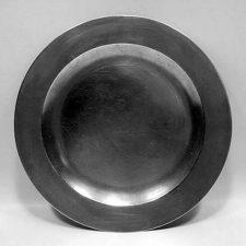 Marked English Flat Rim Plate