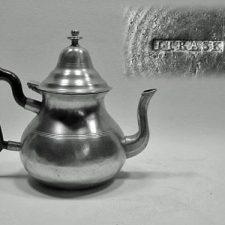 Queen Anne Style Teapot by Israel Trask