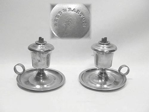 Reed & Barton Chamber Lamps