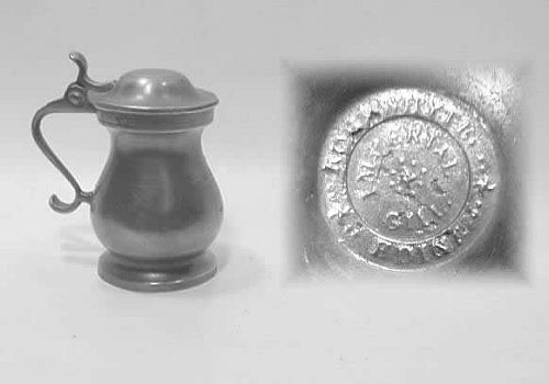 Scottish Lidded Measure by Robert Whyte