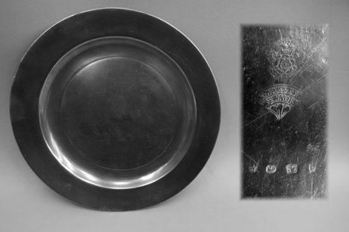 Flat Rim Plate by Frederick Bassett
