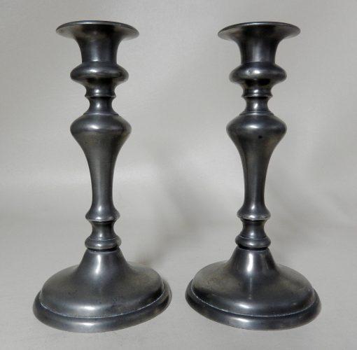 Pair English Candlesticks