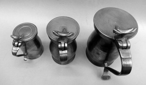 Gill, ½ Pint & Pint Bud Measures