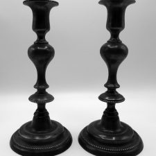 Pair English Candlesticks