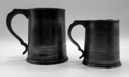 Pint and ½ Pint English Mugs