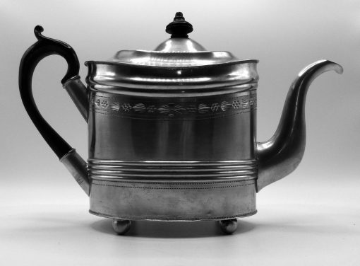 Federal Style Teapot