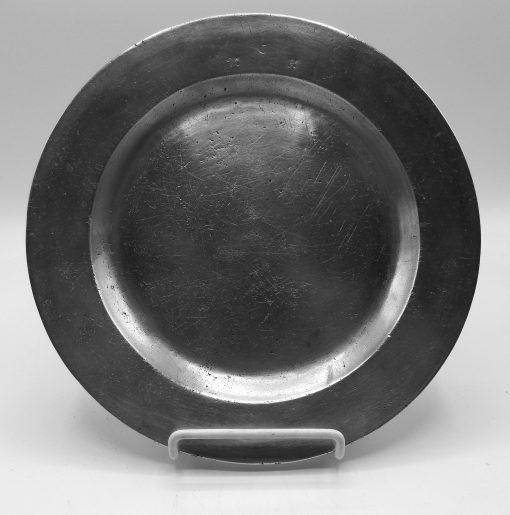 American Marked Flat Rim Plate