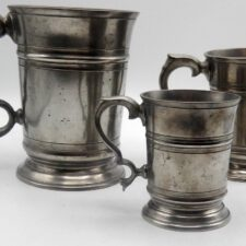 Set of 3 Matching English Mugs