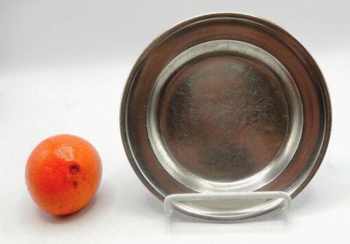 "6"" American Pewter Plate"