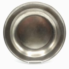 Marked English Pewter Dish