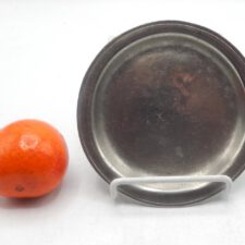 """Pewter Plate 5 ½"""""""
