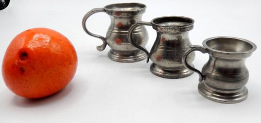 Three Pewter Measures