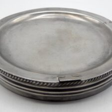 English Pewter Warming Dish