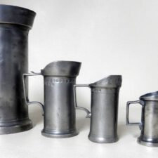 Set of Open Metric Pewter Measures with a Collar