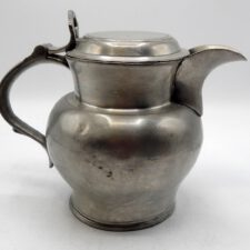 English Pewter Ale Pitcher