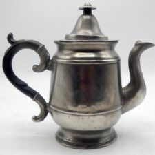 Rare Pewter Teapot Marked by Wilcox