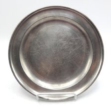 Pewter Plate Marked by Thomas Badger