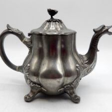 Pewter Teapot Marked by Broadhead